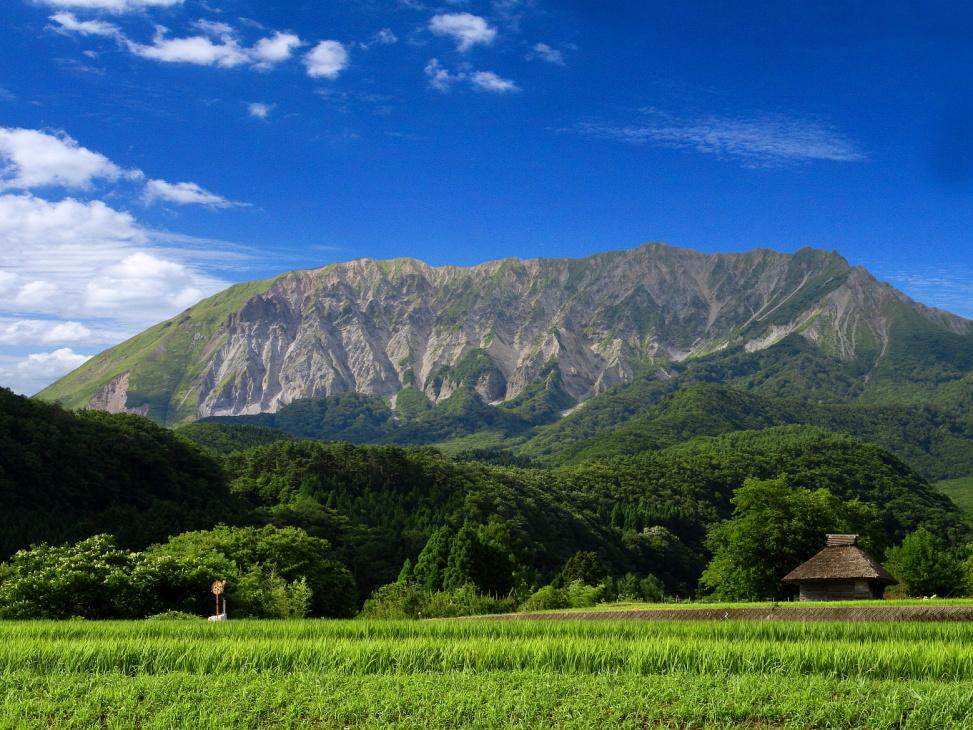 大山 Mt. Daisen